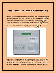 Access control – an evidence of perfect security