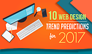 10 Web Design Trends & Predictions For 2017 #Infographic