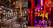 Difference Between Pubs, Clubs And Lounge Bars In London