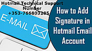 Can I Create A Signature For Hotmail?