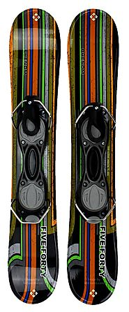 Snowjam Five-Forty Phenom 75cm Skiboards Snowblades with Bindings 2016