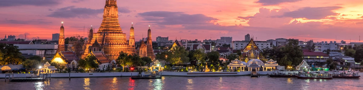 Headline for Riverside Attractions in Bangkok – Highlights in the Thai Capital