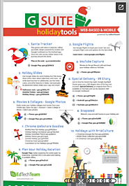 Just in Time! G Suite Holiday Tools