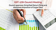 GST Council Meet comes up with benefits for Taxpayers