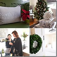 North Fork Guest House Beautiful During the Holidays and A Perfect Getaway in Any Season - The East End Experience