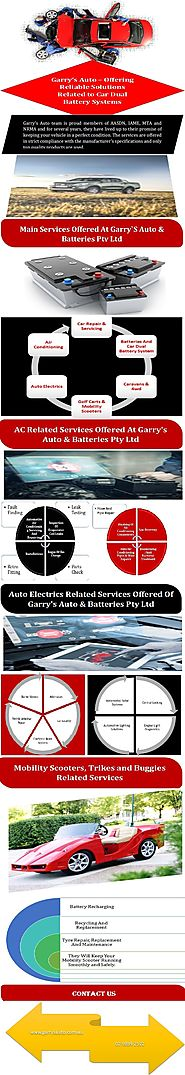 Garry's Auto – Offering Reliable Solutions Related To Car Dual Battery Systems