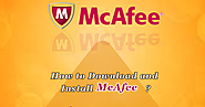 Guidelines To Easy Mcafee download and Installation
