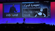 David Meerman Scott keynotes Inbound 2012 featuring Cyndi Lauper