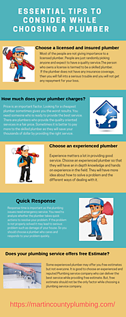 Essential Tips to Consider While Choosing a Plumber