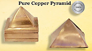 100% Pure Copper Pyramids by AstroDevam.com