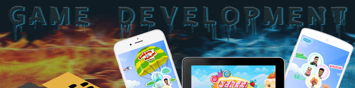 Headline for Mobile game development services by Capermint Technologies