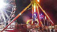 New Chaos Ride at the 2015 St Gregg's Carnival In NJ