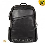 CWMALLS® Leather Campus Backpack for Men CW907003