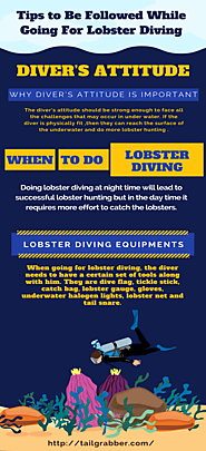 Tips to Be Followed While Going For Lobster Diving