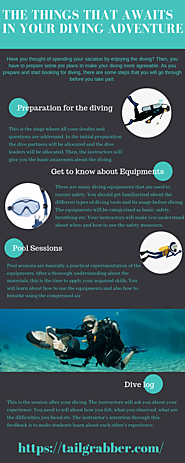 The Things that awaits in your Diving Adventure