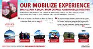 Our Mobilize experience by the numbers - from Emily and Zack | Mobilize