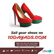 Sell your Old Shoe with 10dayads