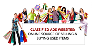 Classified Ads Websites: Online Source of Selling & Buying Used Items