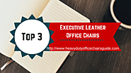 Executive Leather Office Chairs | Heavy Duty Office Chairs