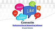 ConnectIn - A Professional Social Networking Software