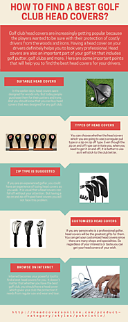 How to find a best Golf Club Head Covers