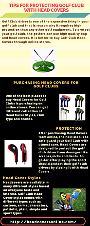 Tips for Protecting Golf Club with Head Covers