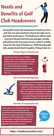 Needs and Benefits of Golf Club Headcovers