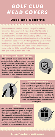 Benefits of Using Golf Club Head Covers