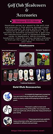 Tips to Present Unique Gift with Golf Club Headcovers