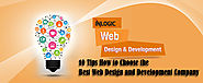 10 Tips How to Choose the Best Web Design and Development Company in Dubai