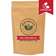 Buy Red Vein Malay Kratom Capsules for Peaceful Effects