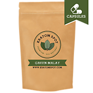 Green Malay Kratom in Capsule for Energizing Effects