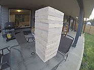 Giant Drinking Jenga