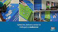 QXAS Inc delivery center in India gets a makeover