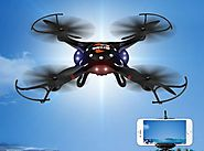 DBPOWER FPV WI-FI MOTION SENSING QUADCOPTER