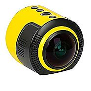 DETU OEM Wireless 360 Degree Panoramic Sports Action Camera (8 MP and 1080p HD)