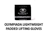 OLYMPIADA LIGHTWEIGHT PADDED LIFTING GLOVES