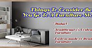 Things To Consider Before You Go To A Furniture Stores NZ