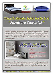 What You Need To Know Before Go To A Furniture Stores NZ