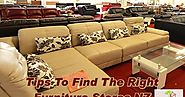 Tips To Find The Right Furniture Stores NZ