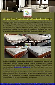 Find Different Styles Of Cheap Beds In Auckland NZ