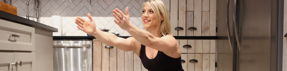 Headline for 5 Easy Exercises You Can Do In The Kitchen