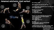 Calisthenics chest workout - beginner to advanced.