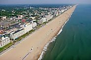 Virginia beach is located in Virginia and is more like Ocean City Maryland with a lot of high rises.