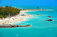 Key West, Florida is a beach like no other with the water being crystal clear and filled with coral reefs