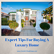 Great Tips For Buying A Luxury Home
