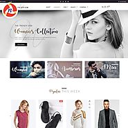 Fashion Style PSD Template For Fashion Store