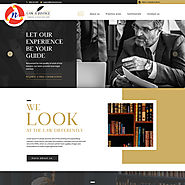 Law & Justice PSD Theme for Law Firm