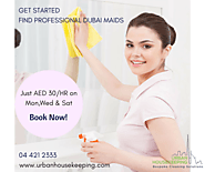 Professional Dubai Maids | Urban Housekeeping Cleaning Services L.L.C