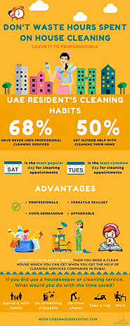 Urban Housekeeping Maids Dubai - Cleaning Companies In Dubai | Maid Services